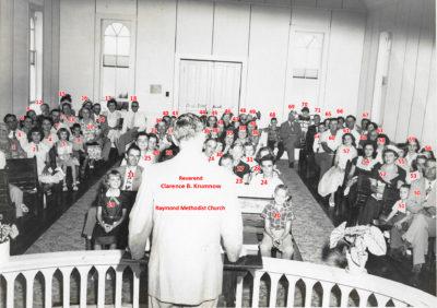 Rev Krummow at Raymond UMC