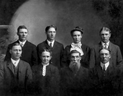 George and Susan Hine Family circa 1900