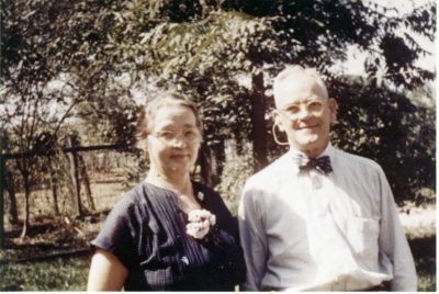 Mee Maw and Pee Paw circa 1956