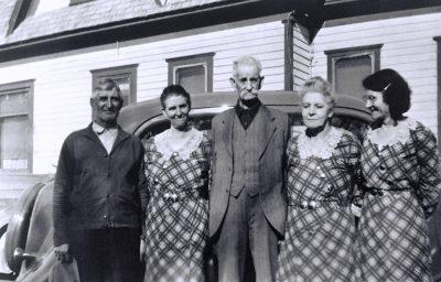The Samuel Charles Phenice family in 1935.
