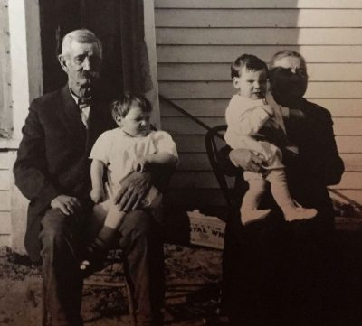 Samuel Charles Phenice with wife Catherine circa 1920 Nebraska
