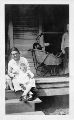Mrs. Robert J. Landry Jr. and mother-in-law