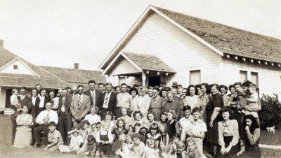 1945 Raymond Methodist Church Fellowship Hall